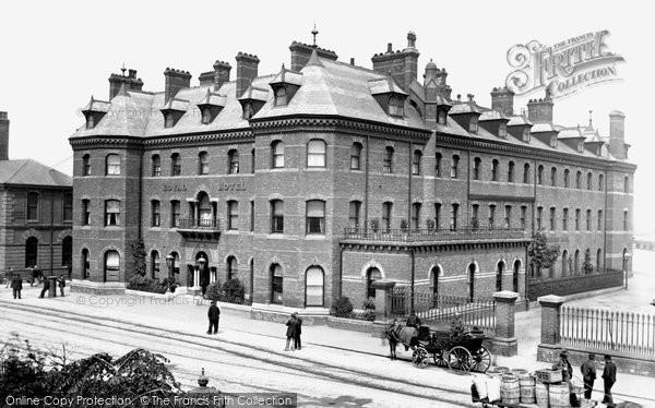 Grimsby, Royal Hotel 1890
