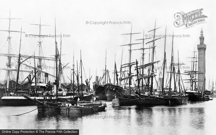 Grimsby, the Docks 1893