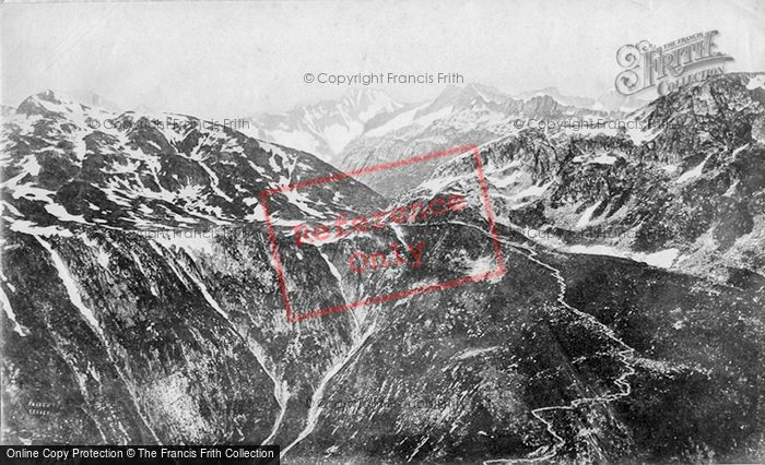Photo of Grimsel Pass, From Leichenstadt c.1875