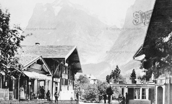 Photo of Grindelwald, And The Wetterhorn c.1870