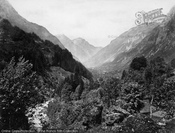 Photo of Grindelwald, Valley Of The Lutschine c.1860