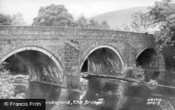 The Bridge c.1960, Grindleford