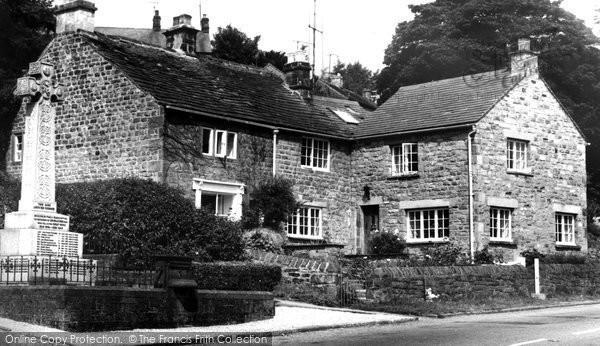 Grindleford, the Village c1960