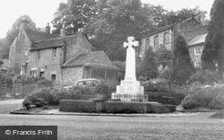 The War Memorial c.1955, Grindleford