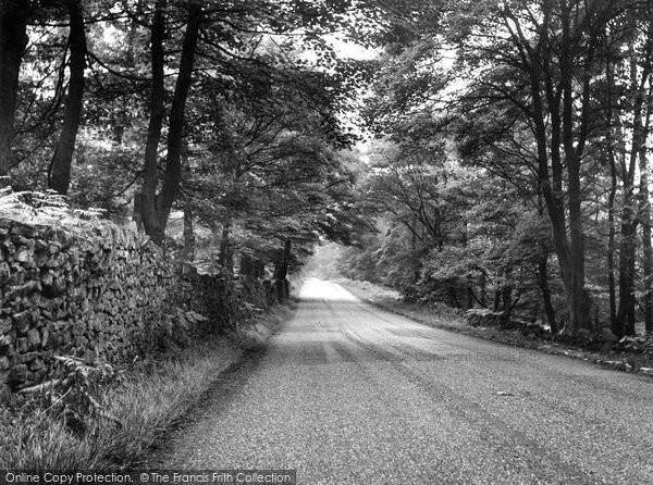 Grindleford, Upper Padley c1960