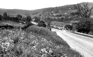 Grindleford, view from Goatscliff c1960