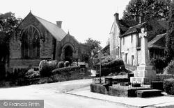 Village Square c.1960, Grindleford