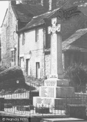 War Memorial c.1960, Grindleford