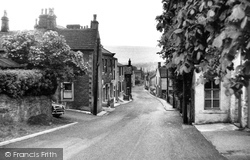 Stone Hill And Post Office c.1960, Grindleton