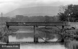 The Bridge And The River Ribble 1921, Grindleton