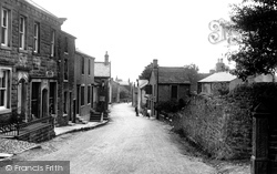 The Village And Post Office 1921, Grindleton