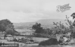 View Towards Pendle Hill c.1960, Grindleton