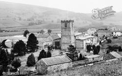 Grinton, St Andrew's Church And Bridge 1913