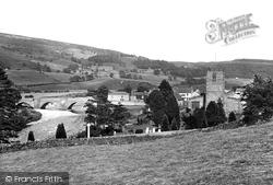 Grinton, St Andrew's Church And Bridge 1923