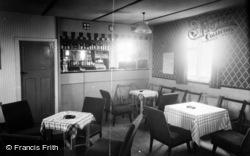Gristhorpe, Bar Interior, South Bay View Caravan Camp c.1960