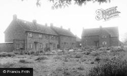 Gristhorpe, Council Cottages c.1960