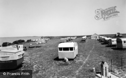 Gristhorpe, South Bay View Caravan Camp c.1955