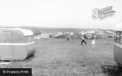 Gristhorpe, South Bay View Caravan Site c.1960