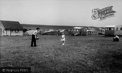 South Bay View Caravan Site, From The South c.1960, Gristhorpe