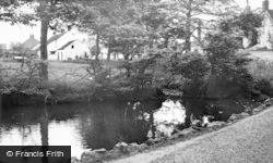 Gristhorpe, The Pond c.1950
