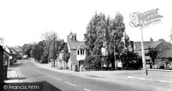 Leicester Road c.1960, Groby
