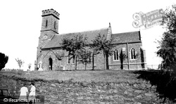 The Church Of St Philip And St James c.1960, Groby