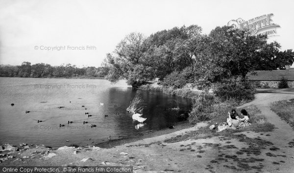 Photo of Groby, The Pool c.1960