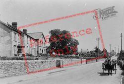 Groes Faen, Village 1936, Groes-Faen