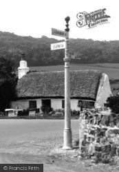 Gronant, Cottage At The Cross Roads 1936