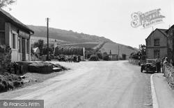 Gronant, Cross Roads c.1955