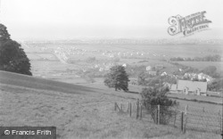 Gronant, General View From Woods c.1935
