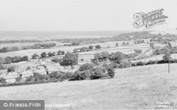 Gronant, General View, Upper Village c.1965