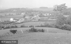 Gronant, Lower Village, From The Woods c.1935