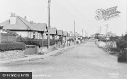 Gronant, Moel View Road c.1955