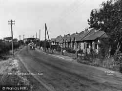 Gronant, Shore Road c.1955