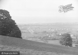 Gronant, The Sea From Bluebell Woods c.1935