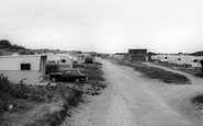 Gronant, the Warren Caravan Site c1965