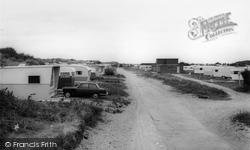 Gronant, The Warren Caravan Site c.1965