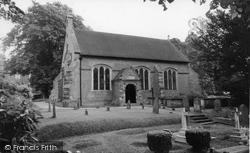 Church Of St John The Evangelist c.1955, Groombridge