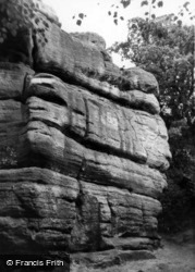 Harrison Rocks c.1955, Groombridge
