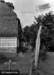 The Walks, Old Town c.1960, Groombridge