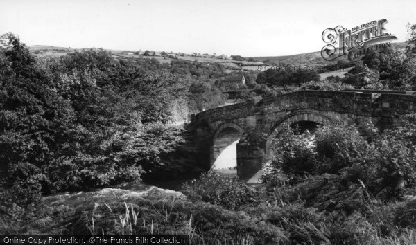 Photo of Grosmont, Bridge And River Esk c.1960