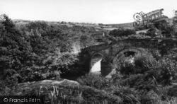 Grosmont, Bridge And River Esk c.1960
