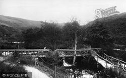 Groudle Glen, View In 1894