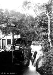 Groudle Glen, Water Wheel 1907