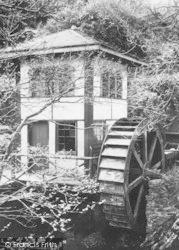 Groudle Glen, Water Wheel c.1900