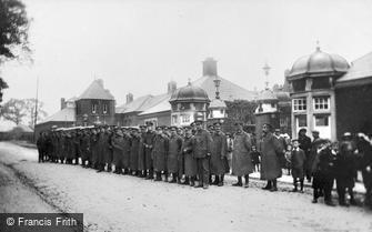 Grove Park, Grove Park Hospital, Army Service Corps Headqurters c1915