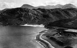 Showing Sail Mhor And An Teallach c.1930, Gruinard Bay