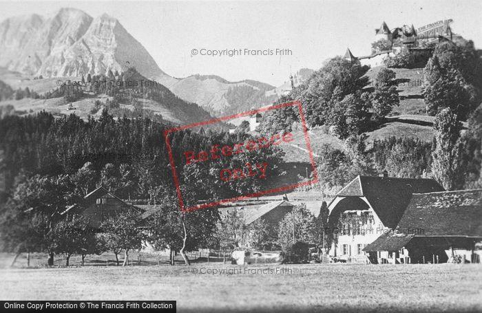 Photo of Gruyères, c.1920