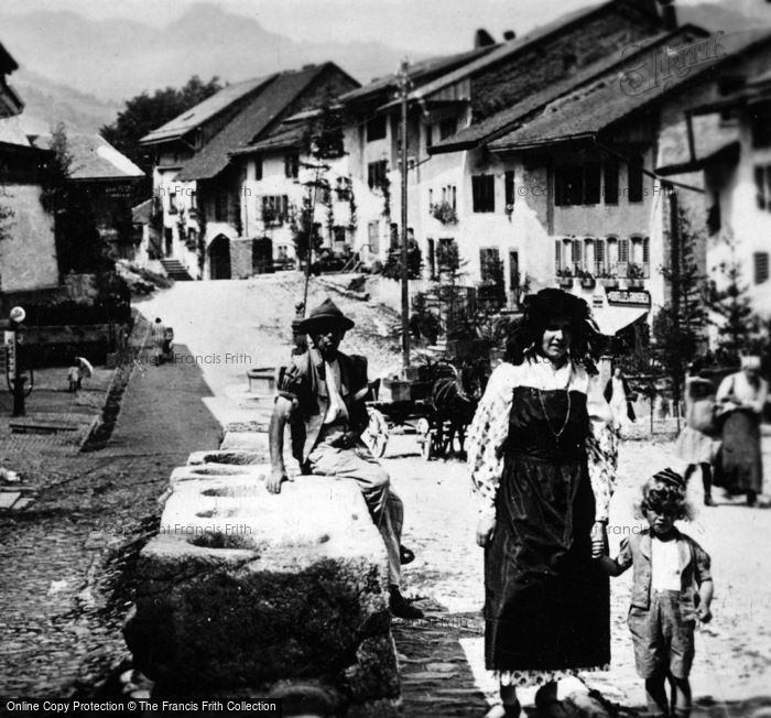 Photo of Gruyères, Les Anciennes Mesures c.1920